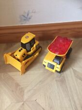 CAT Bulldozer And Tip Up Truck