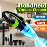 3IN1 6500PA Cordless Handheld Vacuum Cleaner Multifunction Portable Home Car USB