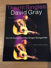 David Gray - The Hit Singles - For Piano, Voice & Guitar