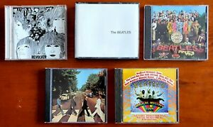 5 x US/UK Beatles CD's In Immaculate Condition (6 CDs total) BULK LOT