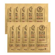 [SKINFOOD]Black Sugar Perfect First Serum essential Samples 10pcs-Korea Cosmetic