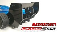 Basherqueen Rear Carbon Wing Mount and Plates Arrma Limitless 6S BLX Roller