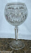 "Waterford Crystal CLARENDON 7 7/8"" Balloon Hock Wine Glass Goblet Beautiful!"