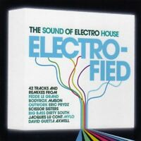 ELECTRO-FIED various artists (2X CD, mixed, compilation, 2006) house, electro,