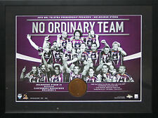 2012 Melbourne Storm Premiership Medallion Framed
