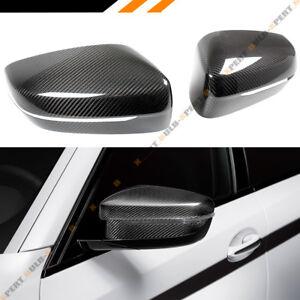FOR 2016-2021 BMW G11 G12 7 SERIES 740i 750i REAL CARBON FIBER MIRROR COVER CAP
