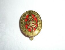More details for old ww1 brass church lads brigade cap badge
