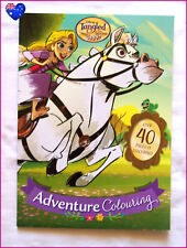 DISNEY TANGLED Colouring Book - RAPUNZEL & PASCAL 40+ pg Gorgeous Colour In NEW