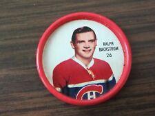 1962-63 Shirriff metal coin # 26 Ralph Backstrom (B23) Montreal Canadiens
