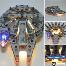 LED Light Kit ONLY For Lego 75105 Millennium Falcon Star Wars Lighting Bricks