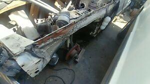 Mercedes Apron Front Left W123 300D 78 USED APRON inner fender