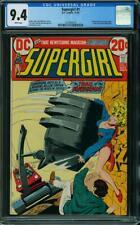 Supergirl #1 CGC 9.4 DC 1972 Key Bronze Age! Zatanna! White Pages! H7 112 cm