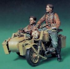 Legend 1/35 German Waffen-SS Motorcycle Riders Set WWII (2 Figures) LF0077