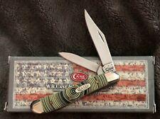 CASE XX Yellow Tree Ring Peanut 1/1000 Pocket Knives 80030TR Knife