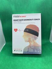 Moov Hr Sweat Heart-rate workout coach sweatband New Free Shipping
