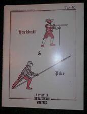 Tac 50-Hackbutt & Pike:A Study in Renaissance Warfare