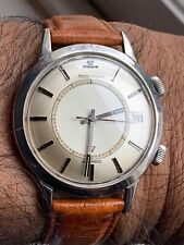 Stunning Vintage Jumbo Jaeger Le Coultre E855 Memovox watch 1960s, boxed