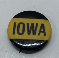 Vintage Iowa Pin Button