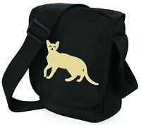 Cat Bag Mini Reporter Abyssinian Cat Shoulder Bags Abyssinian Cat Mothers Day
