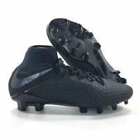 Nike Hypervenom Phantom 3 Pro DF FG Black Cleats AJ3802-001 Mens Size 12.5 NEW