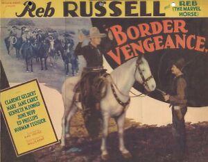 Border Vengeance 1935 Reb Russell, Mary Jane Carey Western DVD