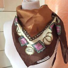 Egon Van Fustemberg scarf foulard seta