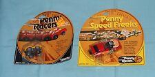 vintage Takara Penny Racers Penny Racers Pet Vette & Blaze 'N Burn Moc lot