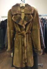 New Woman's Italian Genuine Mink Fur Coat