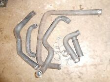 1991 skidoo XTCE formula plus: LOT of 6 RADIATOR HOSES w clamps