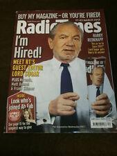 RADIO TIMES - LORD ALAN SUGAR EDITOR - MARCH 17 2012