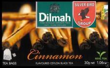 100 bustina del tè Dilmah Cinnamon flavoured black Fun Tea Ceylon cannella tè Express