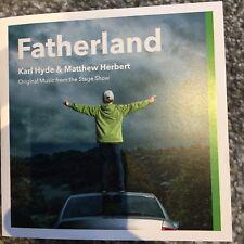 "KARL HYDE (UNDERWORLD) & MATTHEW HERBERT ""FATHERLAND"" NEW CD PROMO"