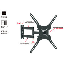Full Motion TV Wall Mount Bracket Rotation 180° Tilt 20°13 32 37 40 42 46 47 50""