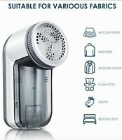 Fabric Shaver, Lint Remover with 3 Replaceable Stainless Steel Blades&Removable