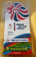 TEAM GB BAHIA BANDS RIO 2016 OLYMPICS OFFICIAL SUPPORTERS ITEM BNIP SEE COLOURS