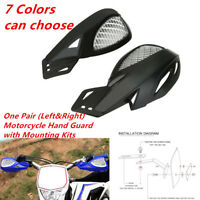 Durable Pair (L&R) Motorcycle Hand Guard w/ Mounting Kit For 7/8''handlebar Trim