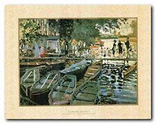 Bathers at La Grenouillere Claude Monet Wall Decor Art Print Poster (22x28)