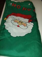 CHRISTMAS SANTA CLAUS SHOWER CURTION W/HANGERS