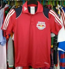 NEW YORK RED BULL 2011 adidas FOOTBALL SOCCER  POLO SHIRT JERSEY X-SMALL ADULT
