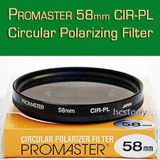 PROMASTER Circular Polarizing Filter C-PL, Film~Digital SLR ALL 58mm Thread Lens