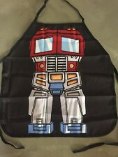Kids Optimus Prime Transformer Apron Kitchen Chef Bake Fancy DressUp Costume Fun