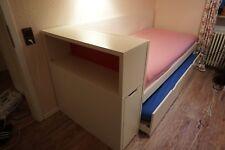 Bett IKEA Odda 90x200cm + Gästebett + 2 Lattenroste + 2 Matratzen + Regal