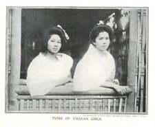 1910 Types Of Visayan Girls
