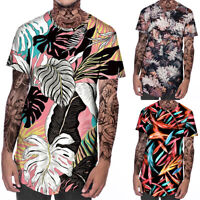 Hot 3D Print Men's Casual Short Sleeve Graphic Tee Tops Summer Sports T-Shirt