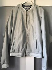DOLCE AND GABBANA Veste en cuir taille 56 ultra Rare 100% Authentique