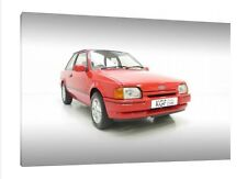 Ford Escort MK4 XR3i - 30x20 Inch Canvas Art - Framed Picture Poster Print
