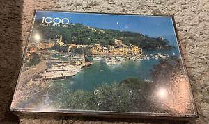 Vintage Philmar 1000 Piece Jigsaw Puzzle Italy Portofino New Sealed