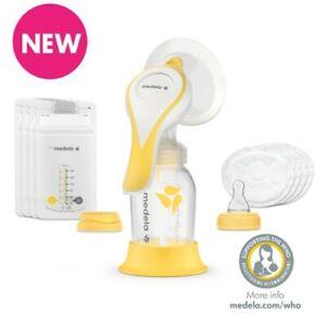 Medela Harmony Essentials Pack Breast Pump Set :: Manual Breast Pump Teat Bags