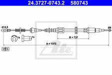 Seilzug, Feststellbremse für Bremsanlage Hinterachse ATE 24.3727-0743.2