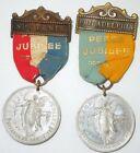 Spanish American War SAW 1898 National Peace Jubilee Medals Atlanta PhiladelphiaOriginal Period Items - 10952